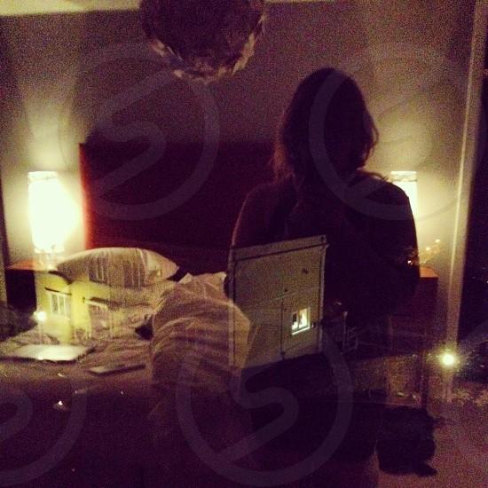 Late night reflections photo