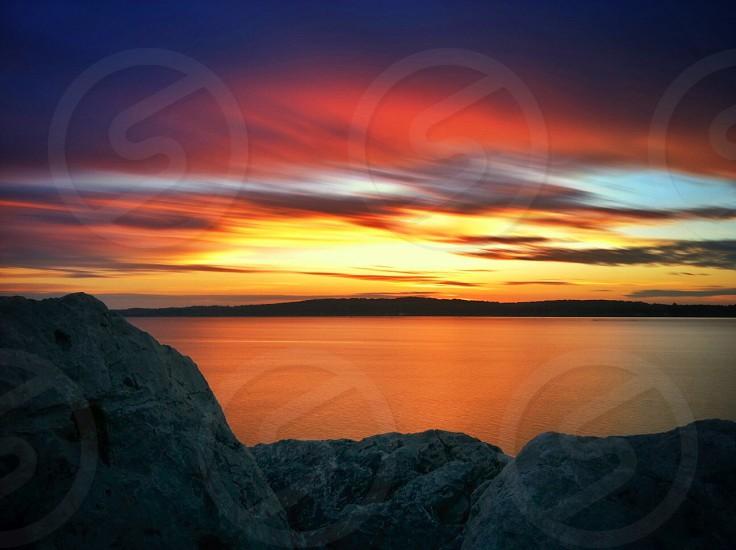 Traverse City Bay photo
