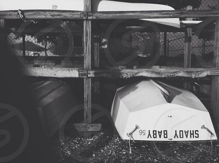 white shady baby boat photo