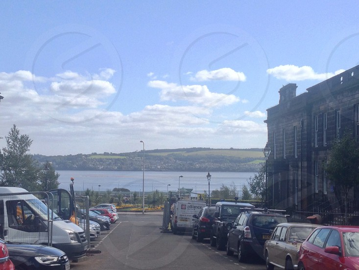 This is the back of University of Dundee looking at the river Tay  photo