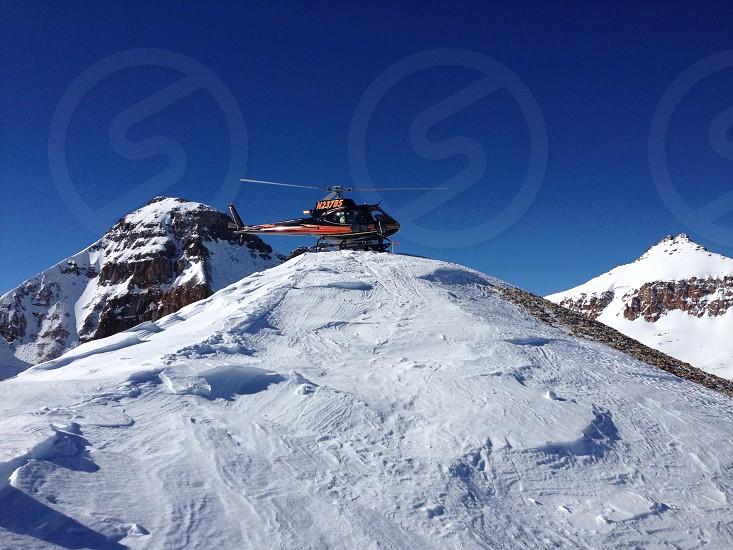 Heli ski on Telluride photo