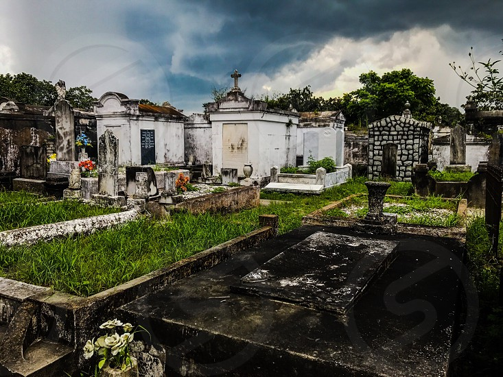 St. Louis cemetery New Orleans landscape cemetery travel historic history culture photo