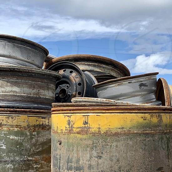 Tire rims photo