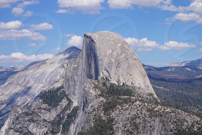 Half Dome  Yosemite Valley California USA photo