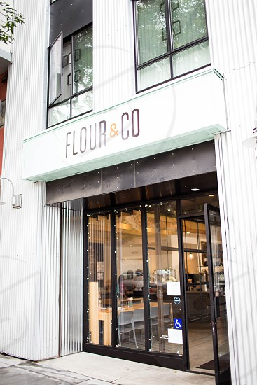 flour & co store during daytime photo