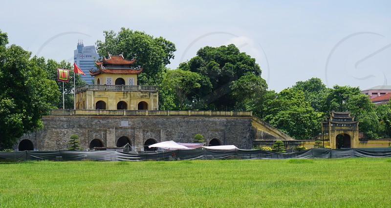 Imperial Citadel of Thăng Long - Hanoi Vietnam photo
