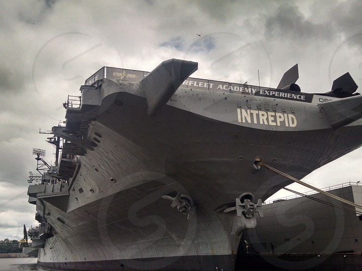 Intrepid Aircraft Carrier NYC photo