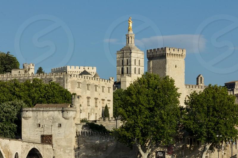 Palais des Papes - Avignon Castle of the Pope. photo