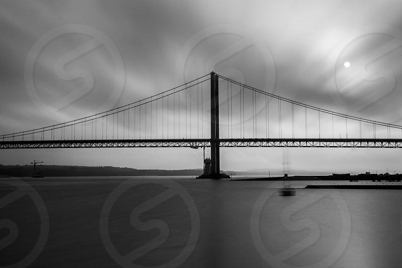 Forth road bridge. photo