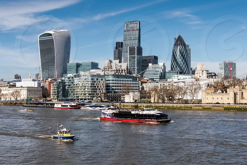 View of the London Skyline photo