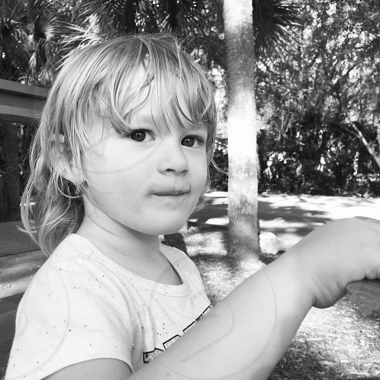 Toddler and the Summer photo
