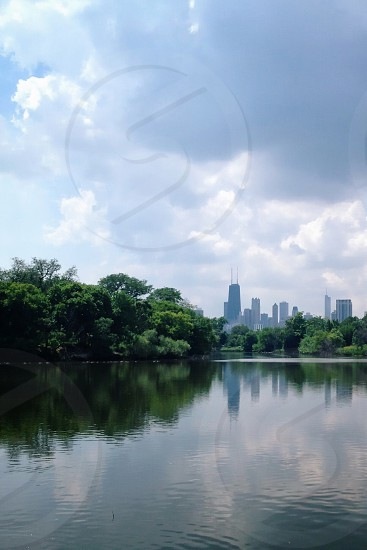North Pond Lincoln Park. Chicago IL photo