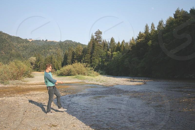 skipping stones photo