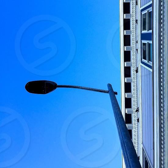 Sky street lamp  photo