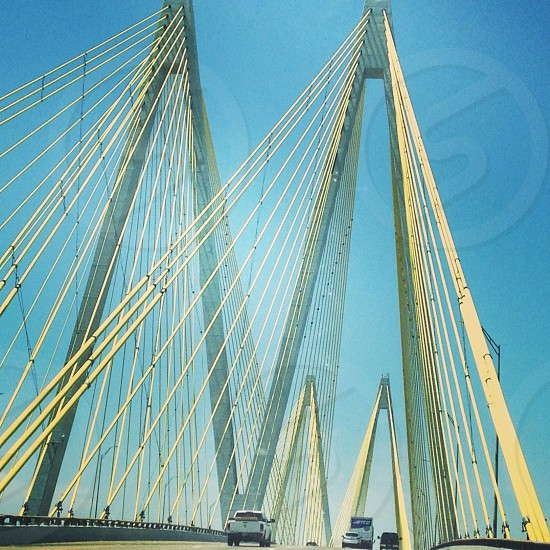 Fred Hartman Bridge  photo