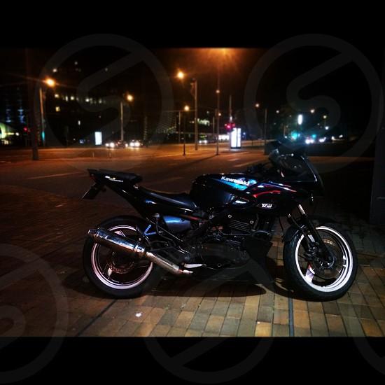 Me waiting for summer 2014 2015 moto motorcycle bike biker creative road highway speed fast point of view pov kawa kawasaki photo