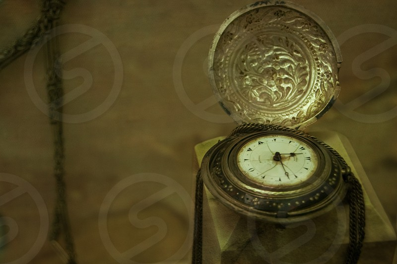 An historic pocket watch. photo