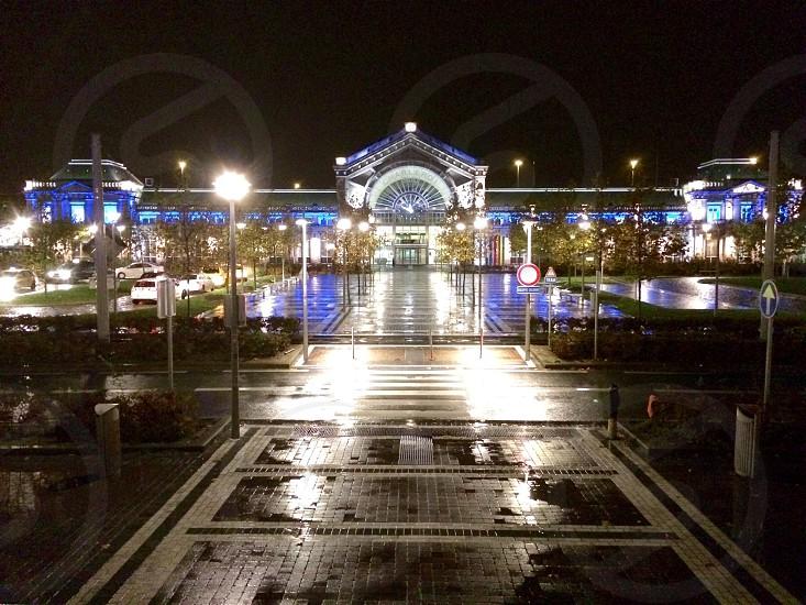 Reflections Train station  photo