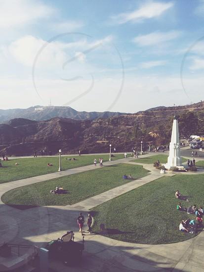 Griffith park Griffith observatory la Los Angeles park photo