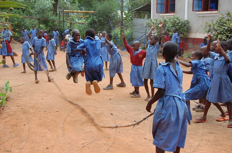 Recess Playtime (Namatala Uganda) photo