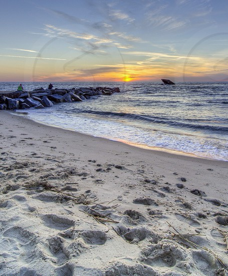 Sunset in Cape May New Jersey photo
