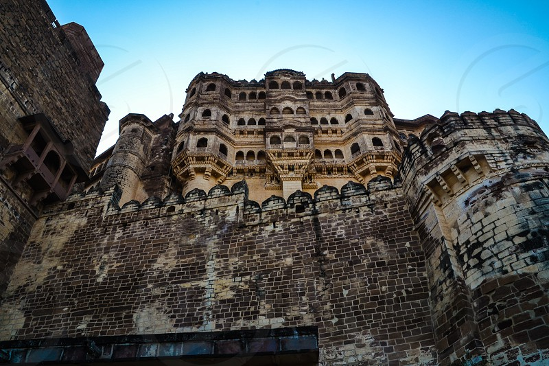 Mehrangarh Fort in Jodhpur India photo