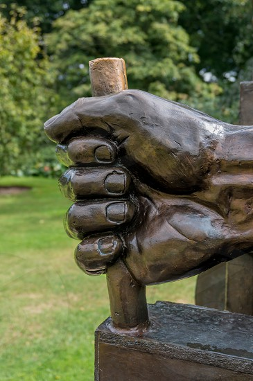 A Maximus Ad Minima Statue in Kew Gardens photo