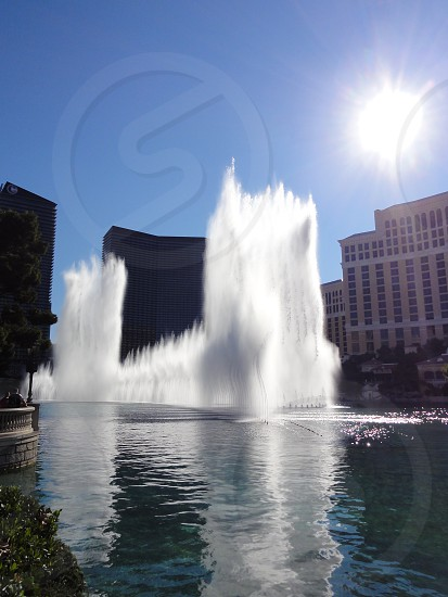 Bellagio fountains photo