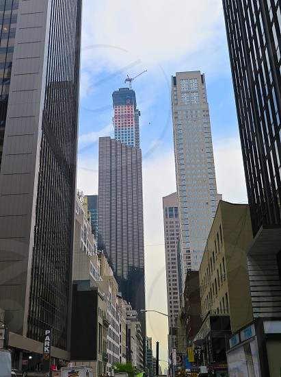 tall building view from the ground photo