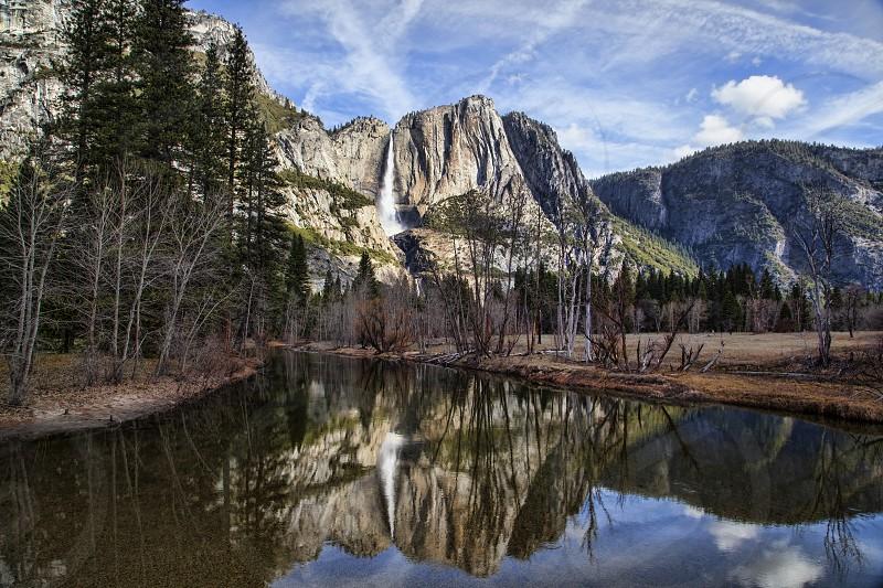 Yosemite mirror.  photo