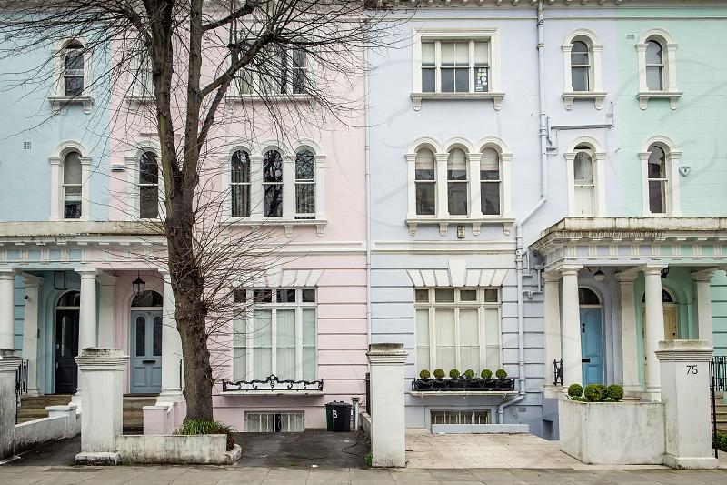 Elgin Crescent Notting Hill London photo