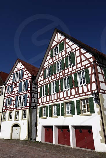 the old town of the villige Schiltach in the Blackforest in the south of Germany in Europe. photo