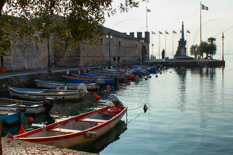 Lazise - Lake of Garda - Verona - Italy photo