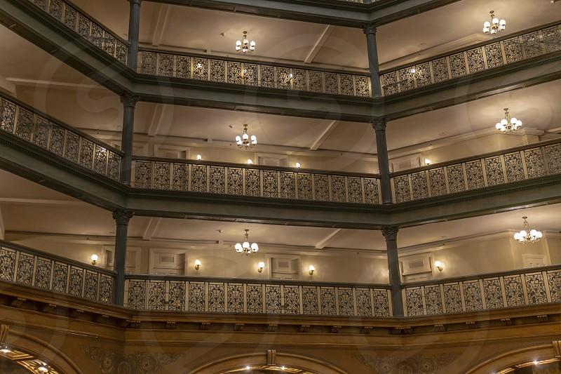Historic Brown Palace Hotel in Denver Colorado photo
