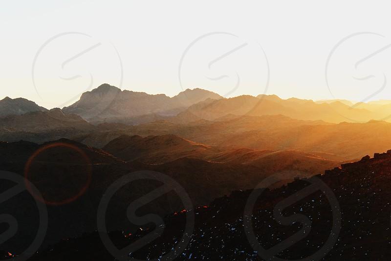Mount Moses Saint Catherine Sinai Egypt photo