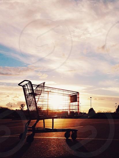 Sundown summer grocery shopping. Desert Life photo