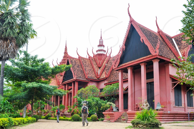 The National Museum of Cambodia largest museum of cultural history and the country's leading historical and archaeological museum located in Phnom Penh Cambodia photo