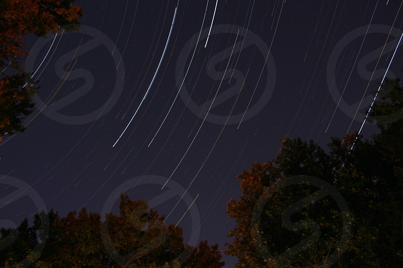 Star trails in the Kentucky sky. Stars Space Night Sky photo