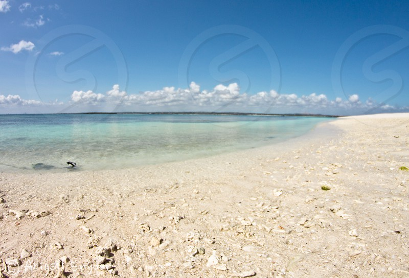 Tropical Water - the Indian Ocean off the coast of Tanzania photo