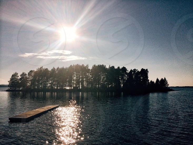 Tällberg lake siljan Sweden summer sunset photo