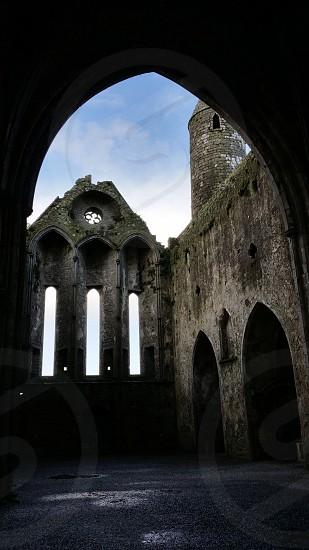 Ireland Rock of Cashel castle photo