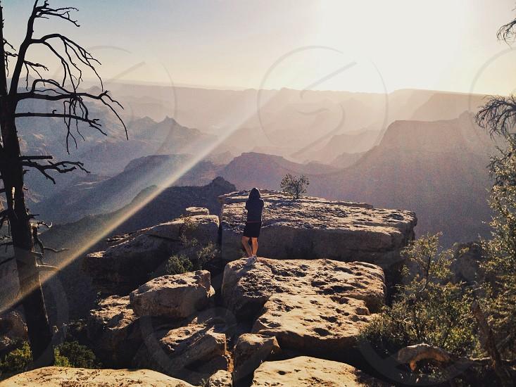 Sunrise at the Grand Canyon  photo