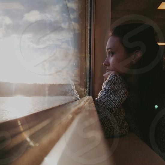Traveling along the west coast.  photo