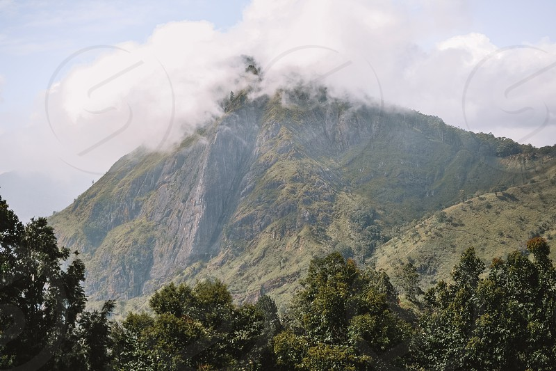 Trip to Ella and marvelous View from Little Adam's Lick in Sri Lanka. photo