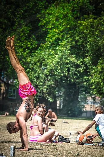 Handstand photo