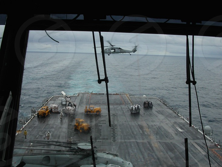 Bringing food to the fleet. photo
