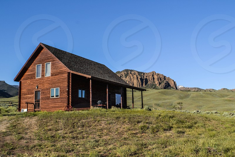 at the cabin.... Wapiti Valley Wyoming photo