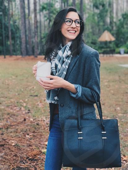 Coffee girl girlfriend beautiful  photo