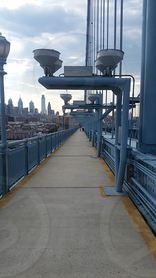 Benjamin Franklin Bridge Philadelphia PA photo