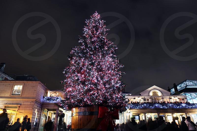 Covent Garden Christmas decorations London. photo